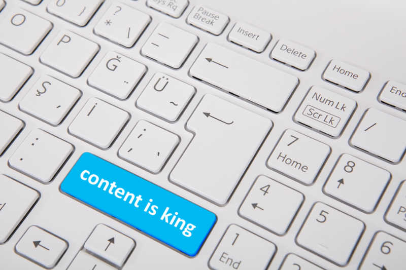 content is king, content marketing