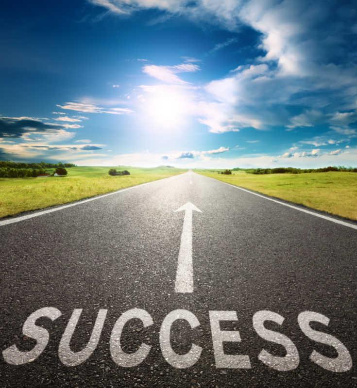 road to success, successful marketing techniques, successful event marketing