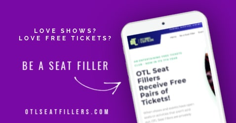 be a seat filler, seat fillers, seat filling, free tickets