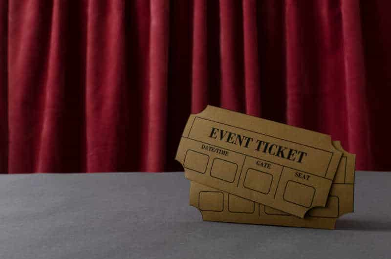 event tickets, discount tickets, free tickets