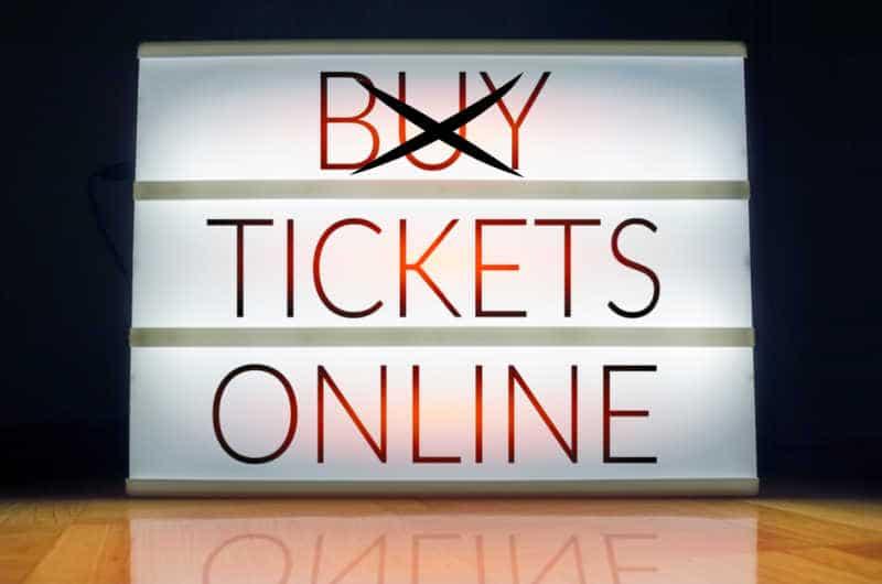 online tickets, seat filler tickets