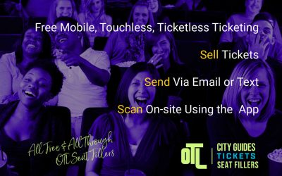 A New Way to Sell Tickets with Touchless Ticketing Tools
